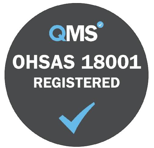 QMS OHSAS 18001 logo
